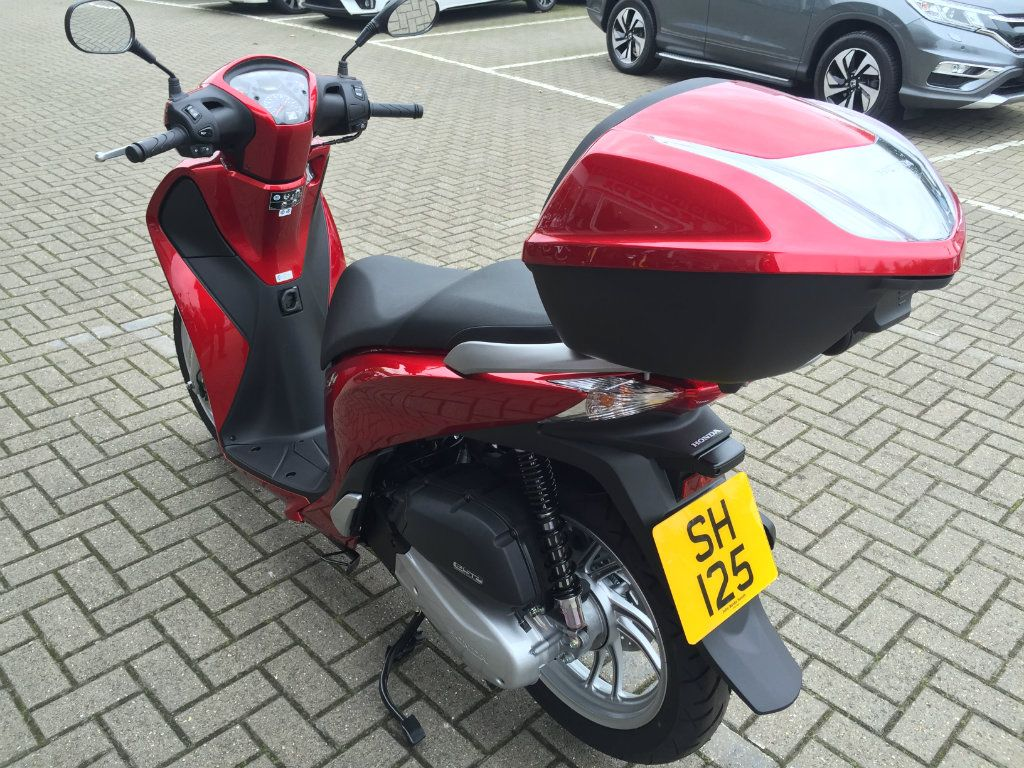 Used Honda Sh125 Available For Sale Red 5 Miles Honda
